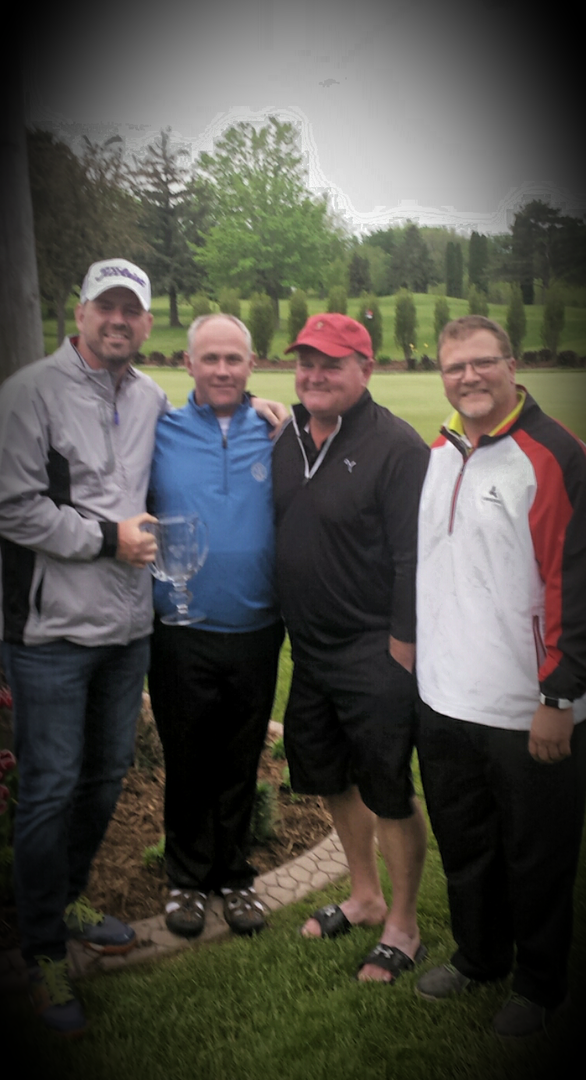 Team Champions: Clint Starks, Scott Steele, Mike Patton & Jeff Fox (Mascoutin GC)